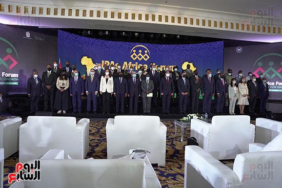 المنتدى الأول لرؤساء هيئات الاستثمار الأفريقية المنعقد بشرم الشيخ (9)