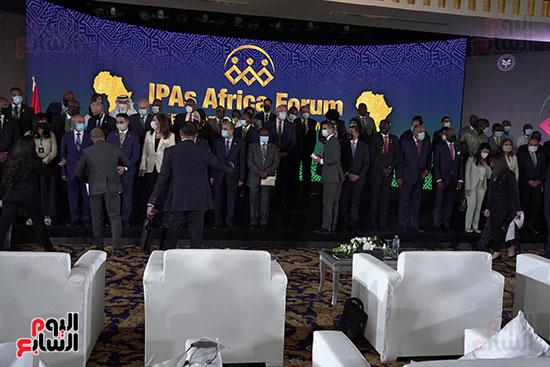المنتدى الأول لرؤساء هيئات الاستثمار الأفريقية المنعقد بشرم الشيخ (12)