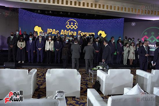 المنتدى الأول لرؤساء هيئات الاستثمار الأفريقية المنعقد بشرم الشيخ (14)