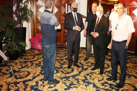 اللواءخالد-فودة-محافظ-جنوب-سيناء-أثناء-تفقديتفقد-الاستعدادات-النهائية-لعقد-منتدى-رؤساء-هيئات-الاستثمار-الأفريقية
