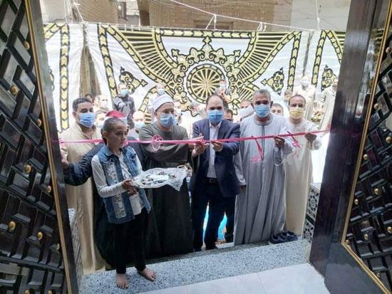 مسجد الروضة الشريفة في بنها (3)
