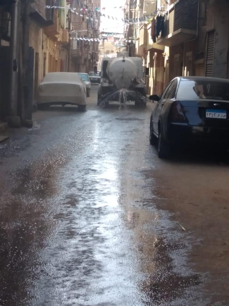 حملات نظافة بشوارع الأقصر