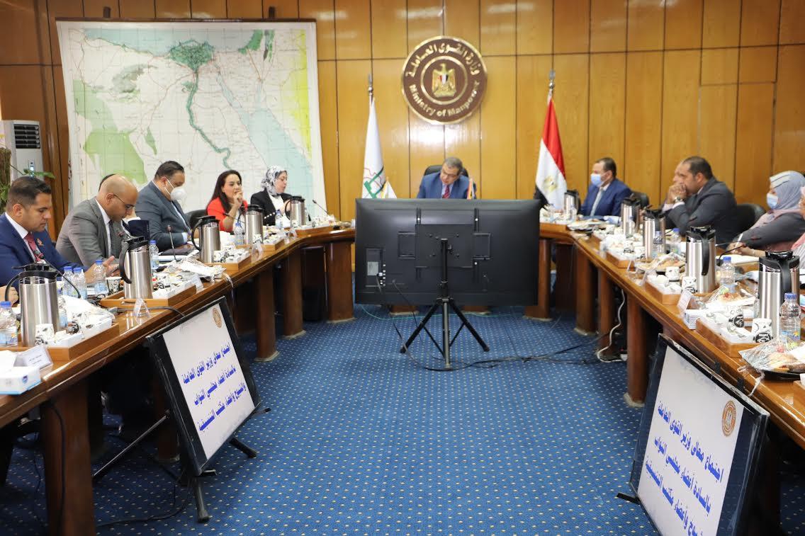 وزير القوى العاملة خلال لقاء أعضاء تنسيقية شباب الأحزاب والسياسيين ومجلسي النواب والشيوخ