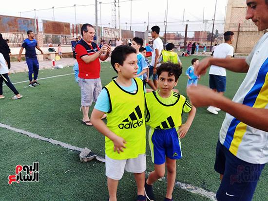 لاعبين-صغار-يتمنون-ان-يكون-امثال-حسام-غالي-ومحمد-صلاح