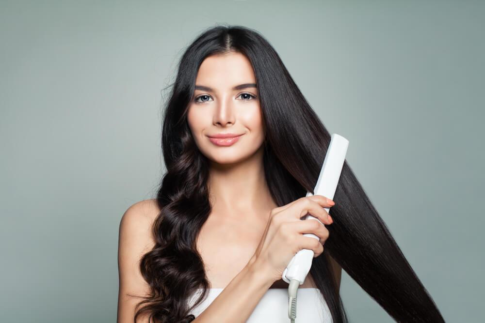 منتجات تصفيف الشعر بالحرارة
