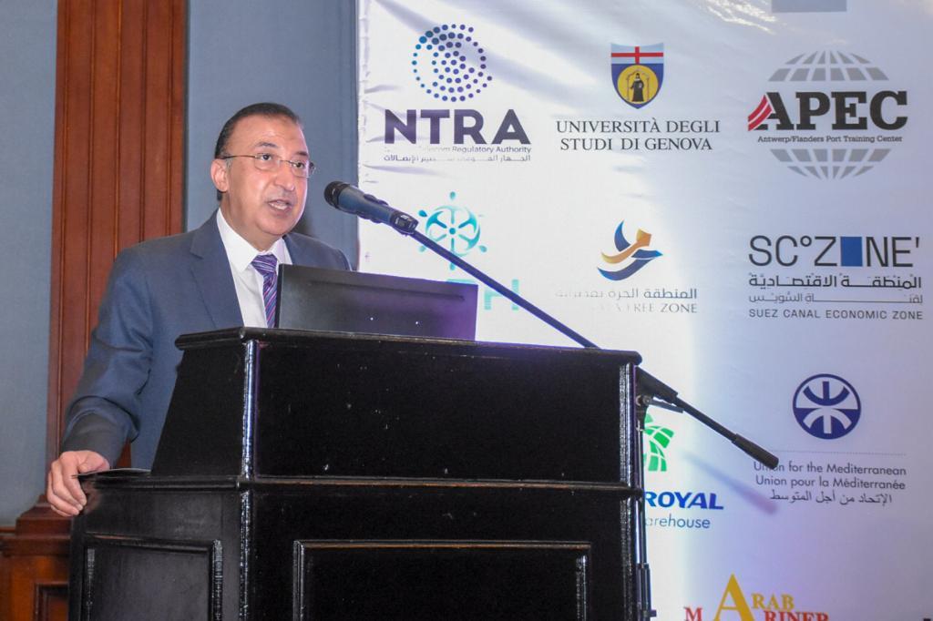 إفتتاح المؤتمر الدولى للنقل البحري واللوجستيات (1)