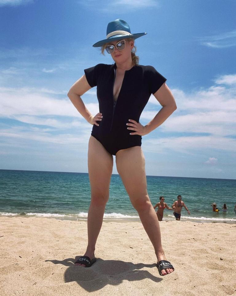 ربيل ويلسون بعد فقدان الوزن