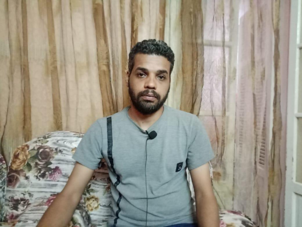 على حسين شقيق الضحية محمود حسين