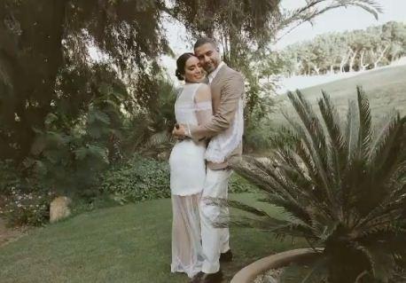 محمد فراج فى حفل الزفاف