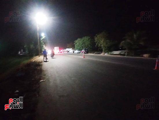 موقع حادث مصرع 4 أشخاص وإصابة 23 آخرين (6)