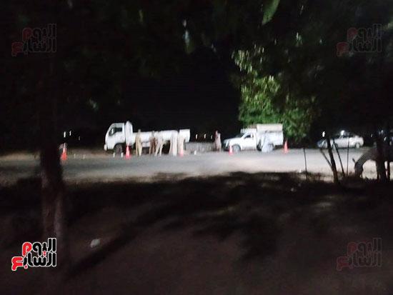 موقع حادث مصرع 4 أشخاص وإصابة 23 آخرين (5)