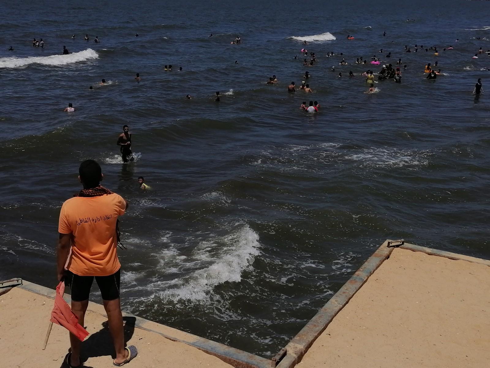 الإنقاذ على شاطئ بورسعيد
