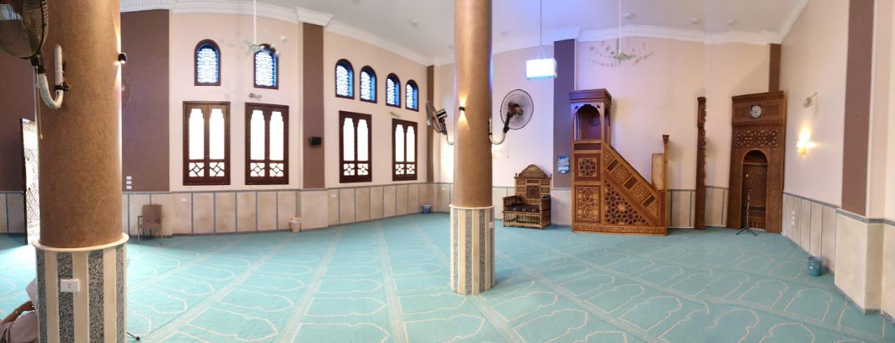 المسجد المقرر افتتاحه اليوم