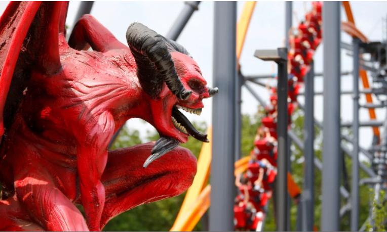 الافعوانية على شكل شيطان