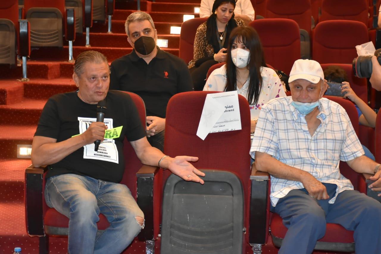 تكريم سلوى محمد علي بمهرجان الإسماعيلية (8)