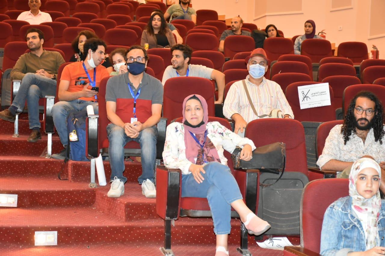 تكريم سلوى محمد علي بمهرجان الإسماعيلية (3)