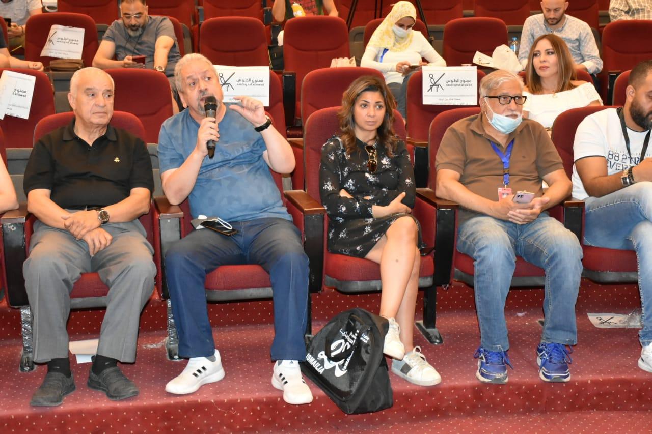 تكريم سلوى محمد علي بمهرجان الإسماعيلية (4)