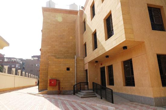 Uno de los edificios del hospital de salud mental en Sohag