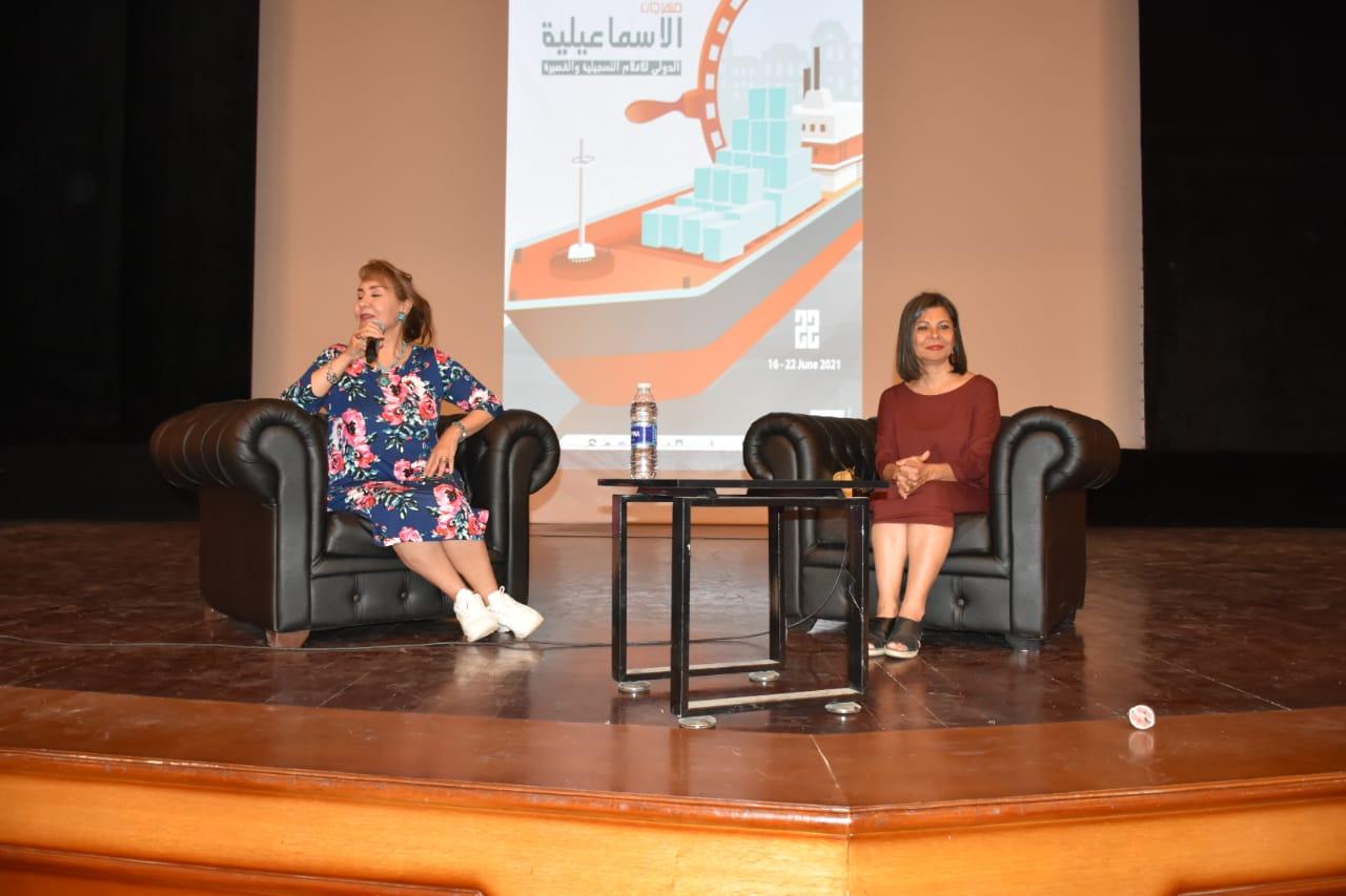 تكريم سلوى محمد علي بمهرجان الإسماعيلية (6)