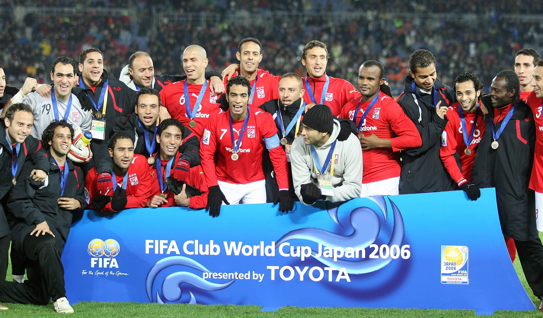 الأهلي ثالث مونديال الأندية 2006
