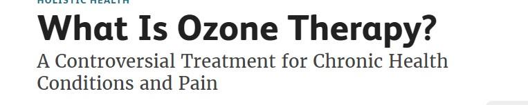 العلاج بالاوزون 3