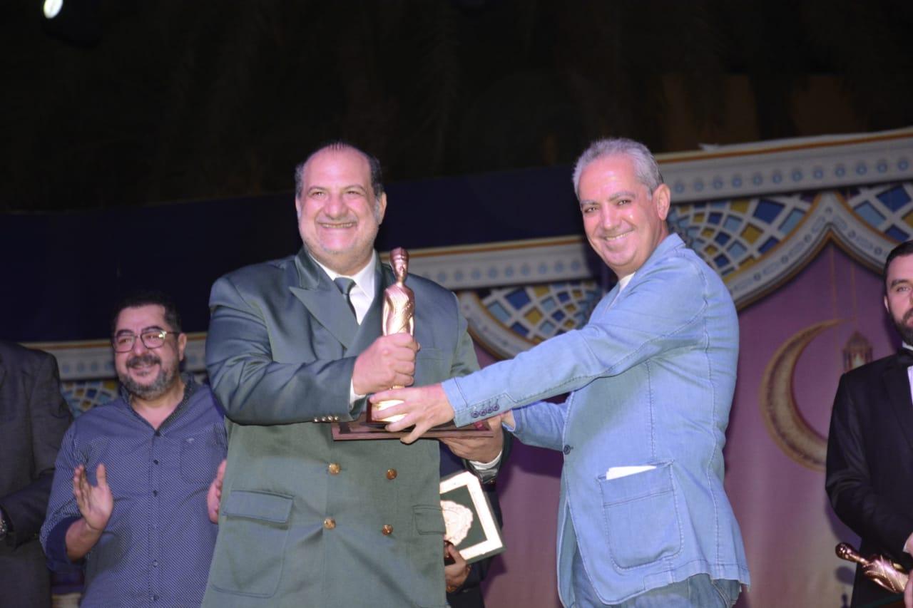 تكريم خالد الصاوى