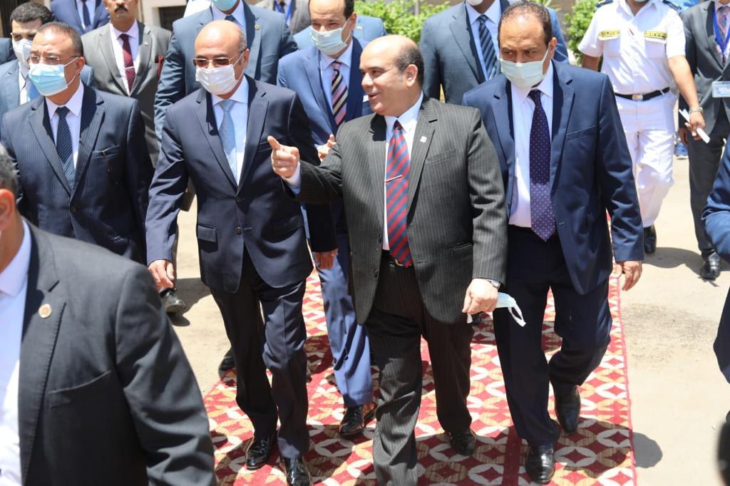 زيارة وزير العدل للاسكندرية