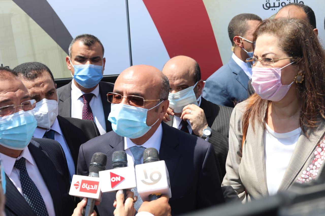 وزير العدل فى افتتاح محكمة الاسكندرية