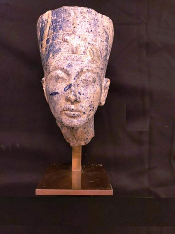 القطع الأثرية المستردة من فرنسا (4)