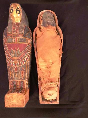 القطع الأثرية المستردة من فرنسا (1)