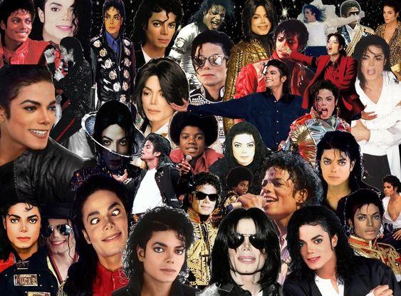 أسطورة الغناء مايكل جاكسون