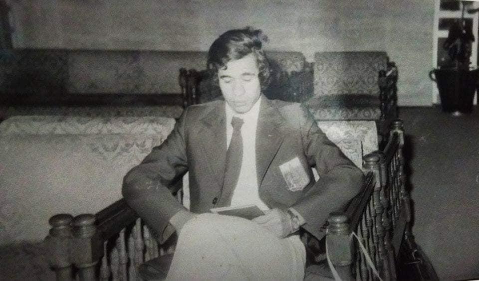 ماهر ابو الكرامات لاعب الزمالك الراحل