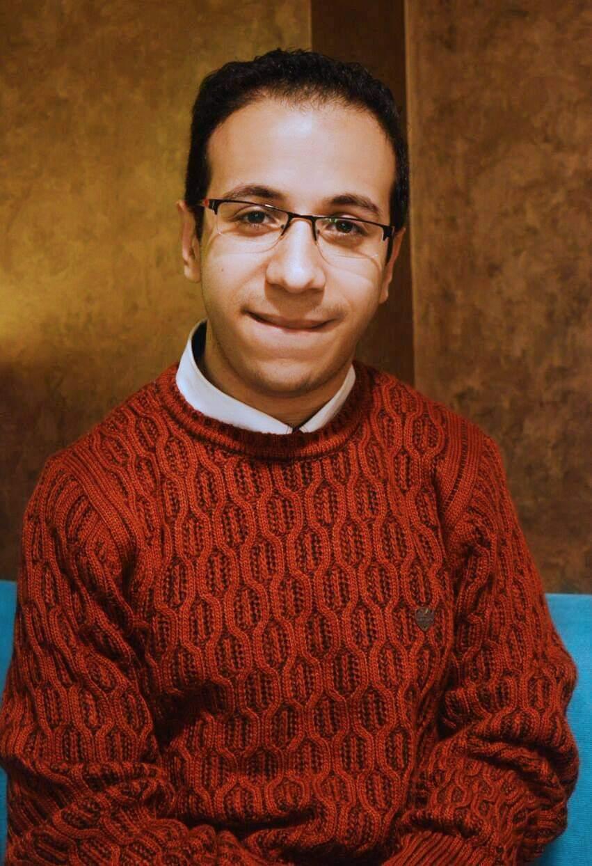 الكاتب الشاب محمد خالد