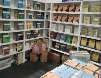 تجهيز الأجنحة فى معرض الكتاب (3)
