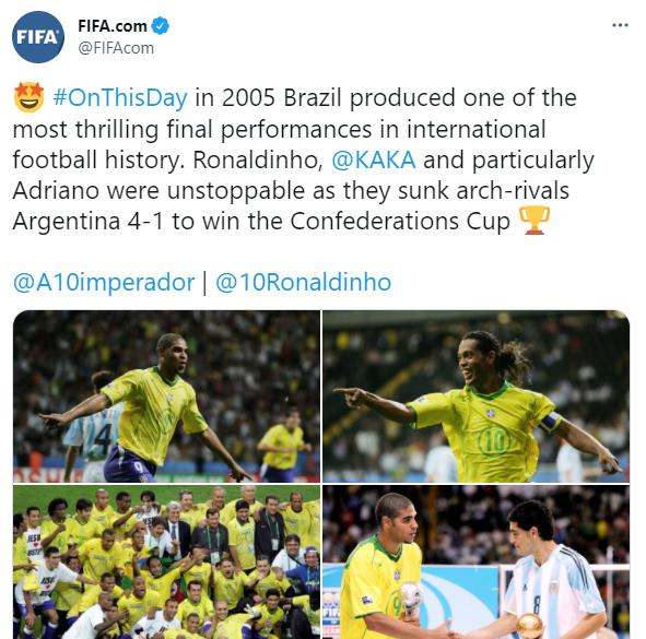 حساب الفيفا على تويتر