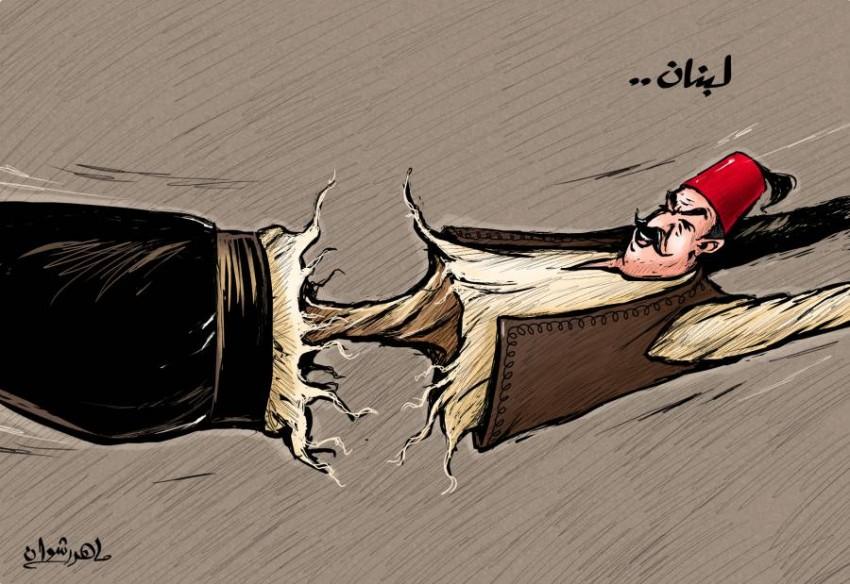 كاريكاتير صحيفة الرؤية الاماراتية