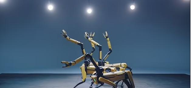 روبوت راقص