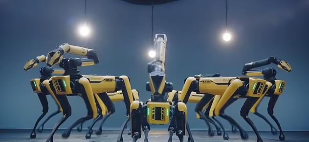 رقصة الروبوتات