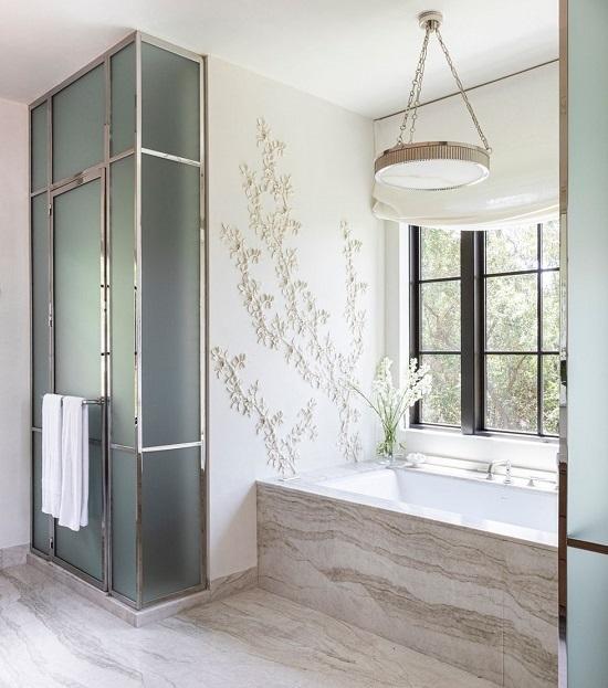 ديكور حوائط..غرفة الحمام
