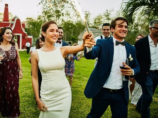حفل زفاف فى الهواء الطلق