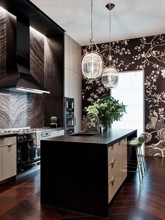 ديكور حوائط..غرفة المطبخ
