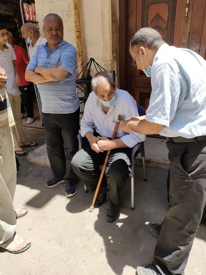 إخلاء 5 عقارات فى وسط بالإسكندرية (2)