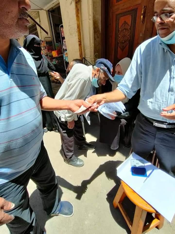 إخلاء 5 عقارات فى وسط بالإسكندرية (1)