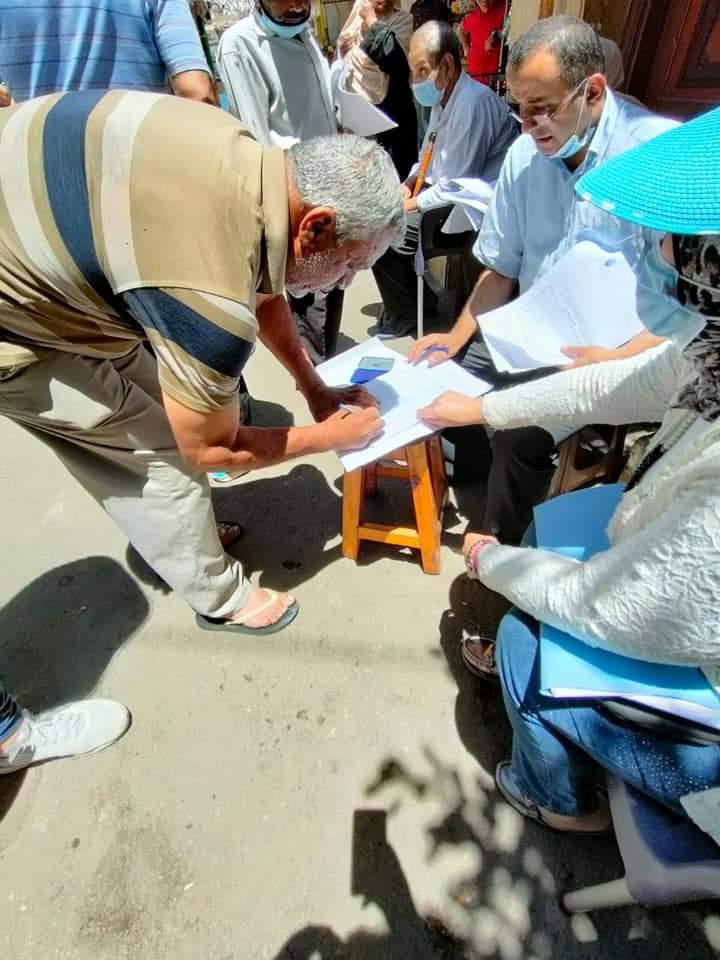 إخلاء 5 عقارات فى وسط بالإسكندرية (4)