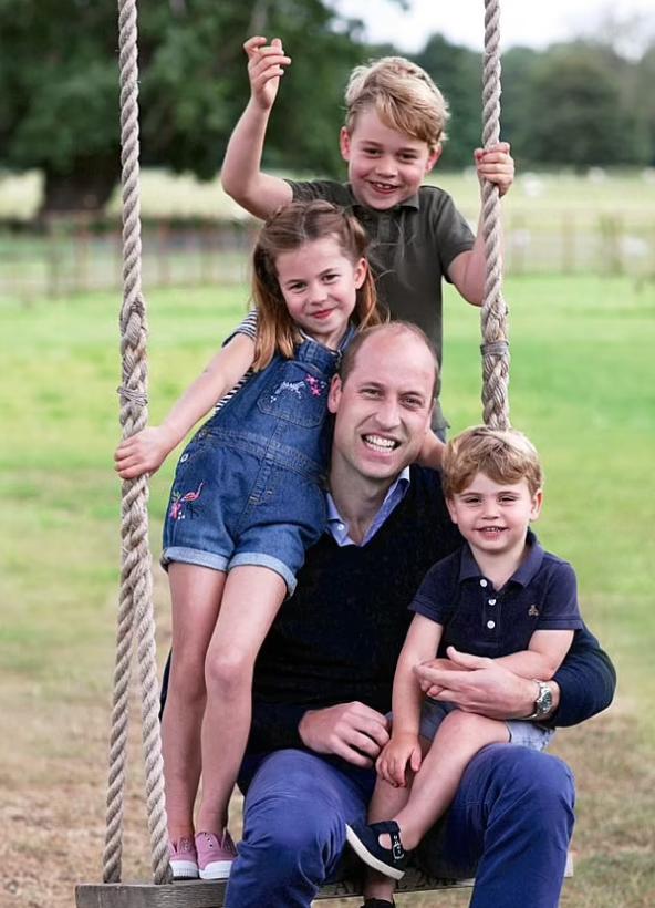الأمير وليام وأطفاله