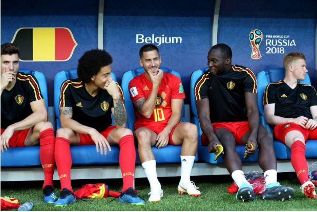 نجوم منتخب بلجيكا