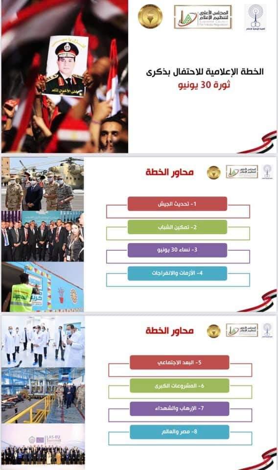 رؤساء الهيئات الإعلامية يناقشون الخطة الإعلامية للاحتفال بذكرى ثورة 30 يونيو (6)