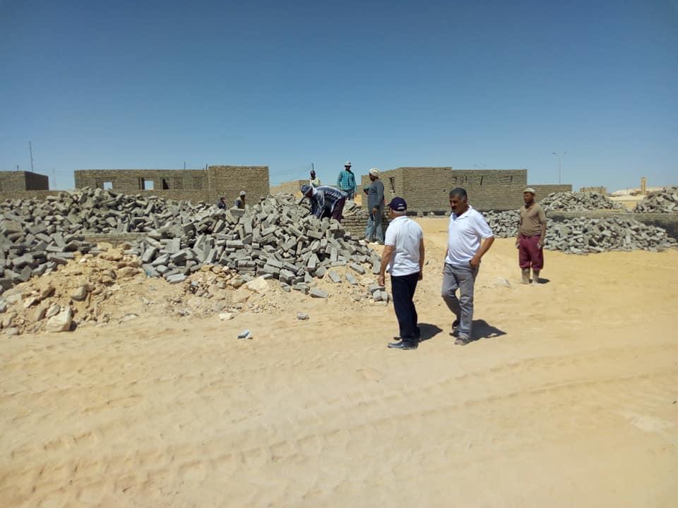 انشاء 25 منزل بوسط سيناء