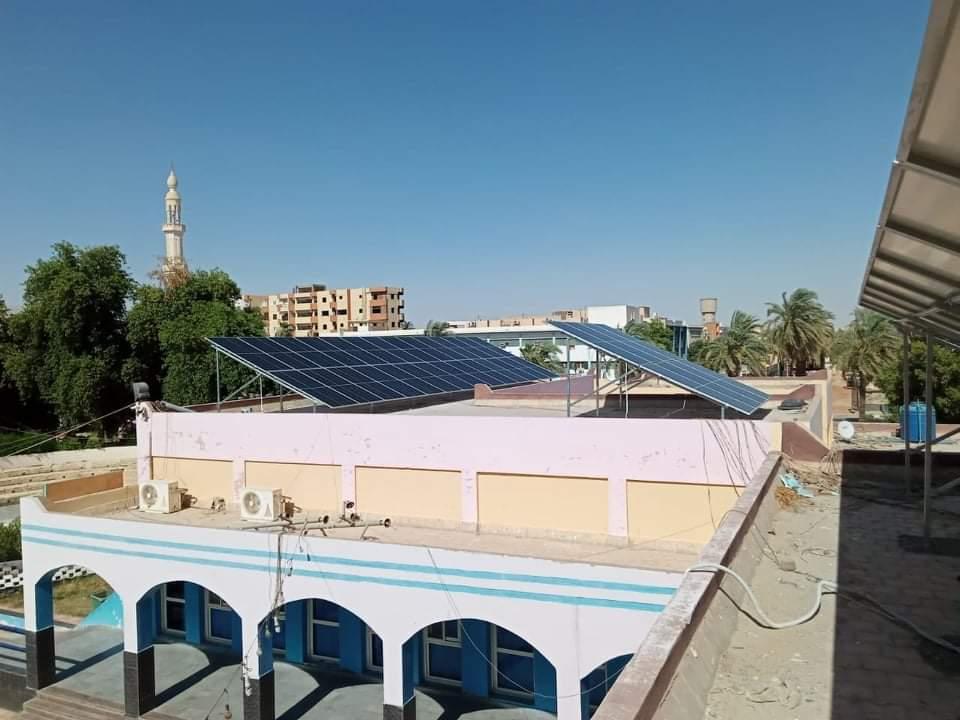 الخلايا الشمسية بعد تركيبها