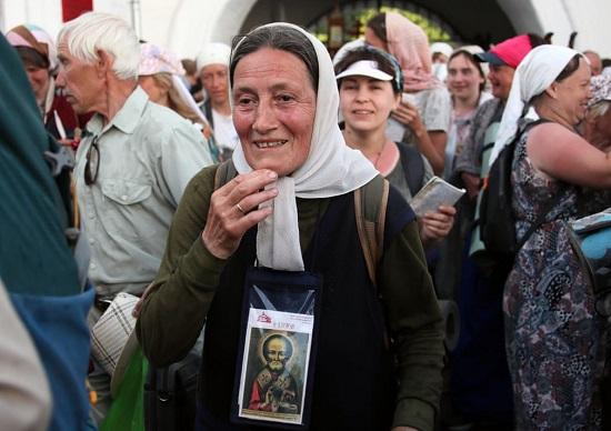 عودة الحجاج الأرثوذكس إلى مدينة كيروف